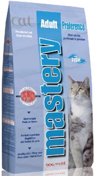 Mastery Cat Preference con pesce