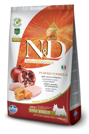 Farmina - Natural & Delicious Pumpkin Formula Chicken & Pomegranate Adult