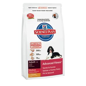 CANINE ADULT MEDIUM ADVANCED FITNESS POLLO
