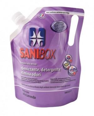 Sanibox Detergente Concentrato Lavanda da 1000 ml