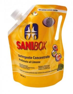 Sanibox Detergente Concentrato Limone da 1000 ml