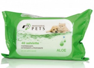 Salviette Detergenti all' Aloe 40 pezzi