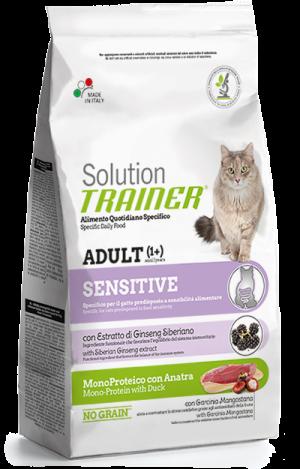 Cat Solution Sensitive Adult Anatra sacco 1.5 kg Trainer TR_PS6403.R