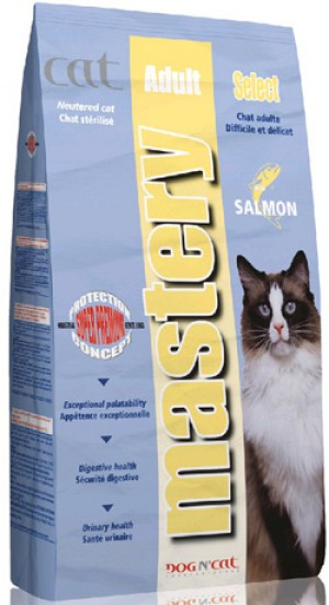 Mastery Cat Adult Select con salmone