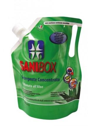 Sanibox Detergente Concentrato Aloe da 1000 ml