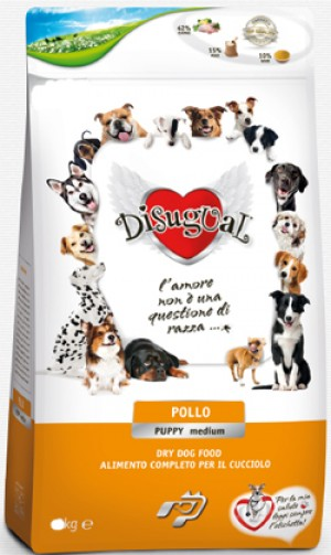 Disugual Puppy Medium al Pollo