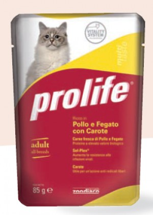 Adult Cat Pollo e Fegato con Carote