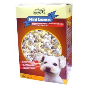 Biscotti Mni Bones, carne e cereali