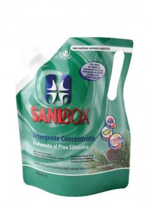 Sanibox Detergente Concentrato Pino Silvestre da 1000 ml